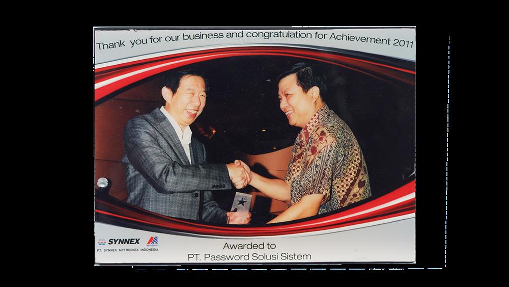Synnex Achievement  Award 2011